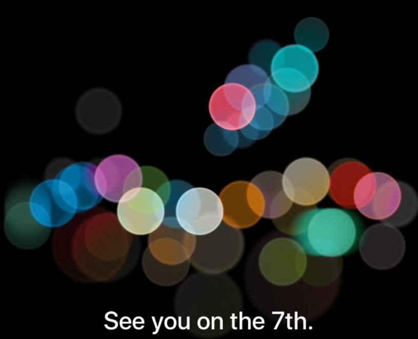 Keynote Apple, il 7 Settembre arriva iPhone 7